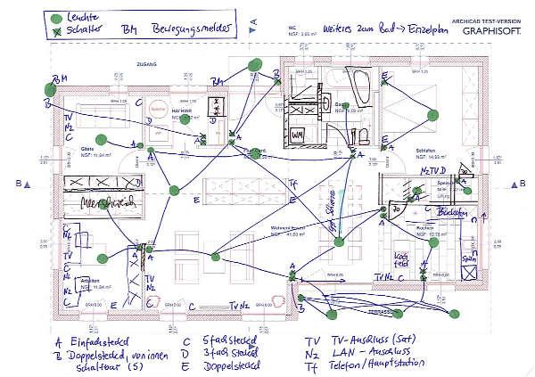 elektroplanung unser hausbau. Black Bedroom Furniture Sets. Home Design Ideas