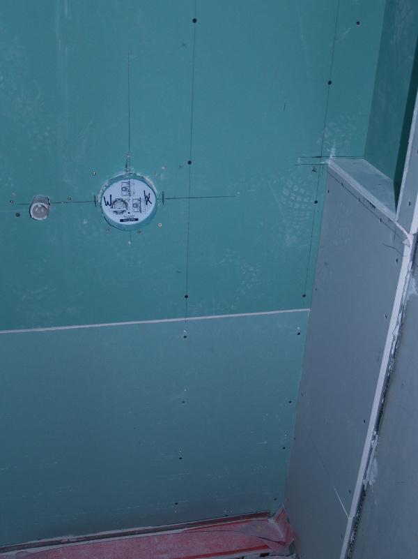 Dusche Fenster Im Weg : , die Dichtungen der bodentiefen Fenster im Bodenbereich vollendet